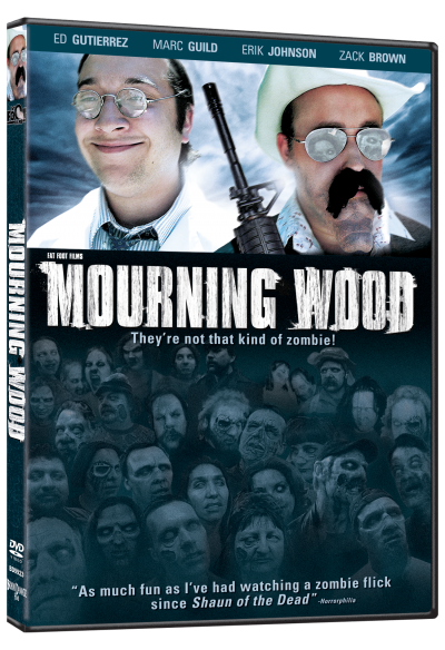 "Fat Foot Films first full-length feature ""MOURNING WOOD"" will be released through Brain Damage Films on July 24th 2012. This brand new DVD has a boatload of special features including, […]"
