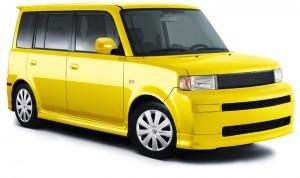 yellow scion xb