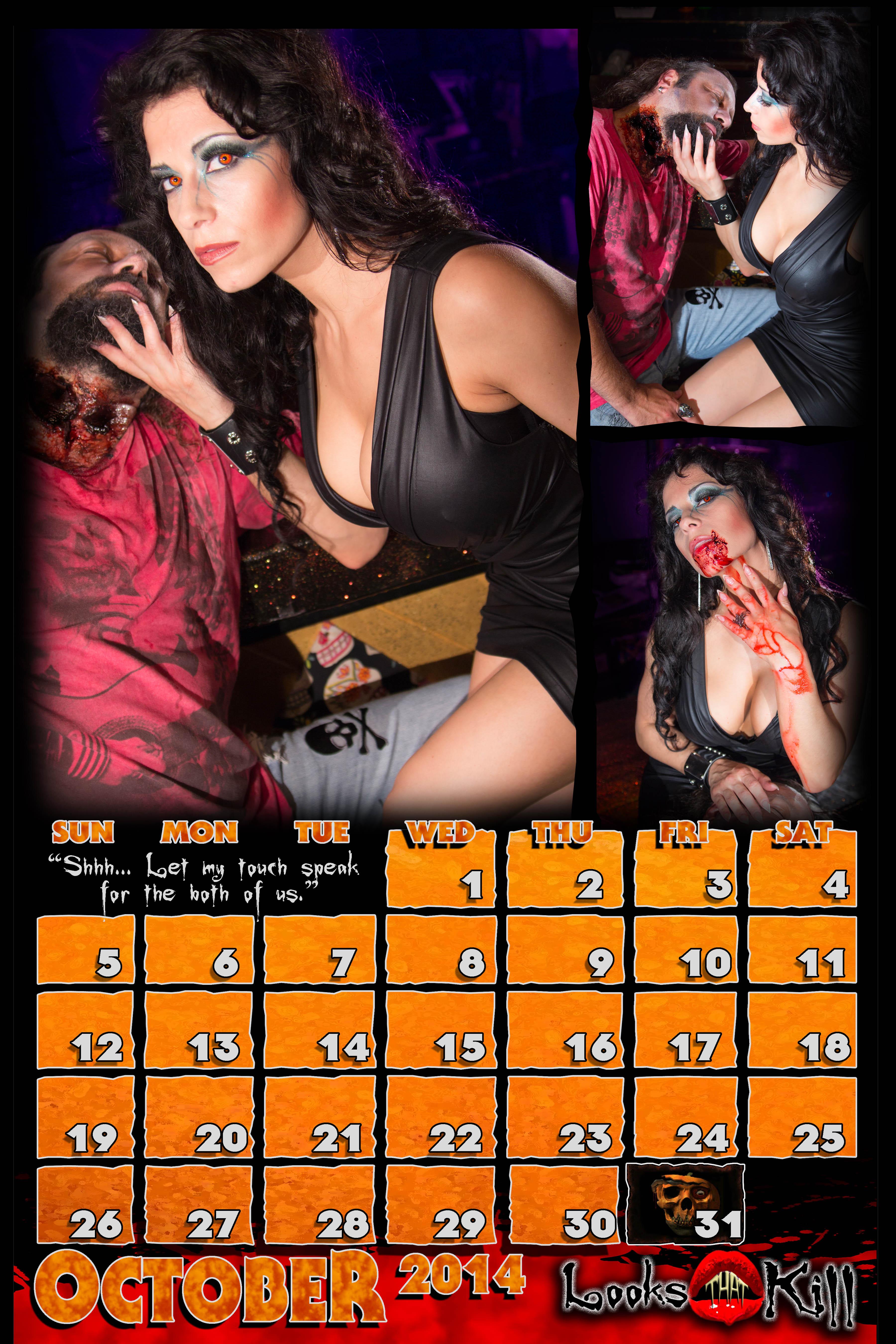 Looks That Kill Calendar 2014