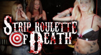 A deadly game where some gorgeous ladies throw knifes at a man on a target wheel. If they miss they lose an article of clothing, if they hit him he […]