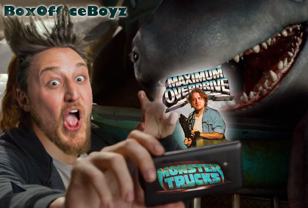 "On this week's episode of Box Office Boyz we put the pedal to the metal and buckle up for 2017's ""MONSTER TRUCKS"" and 1986's ""MAXIMUM OVERDRIVE"". This week our special guest […]"