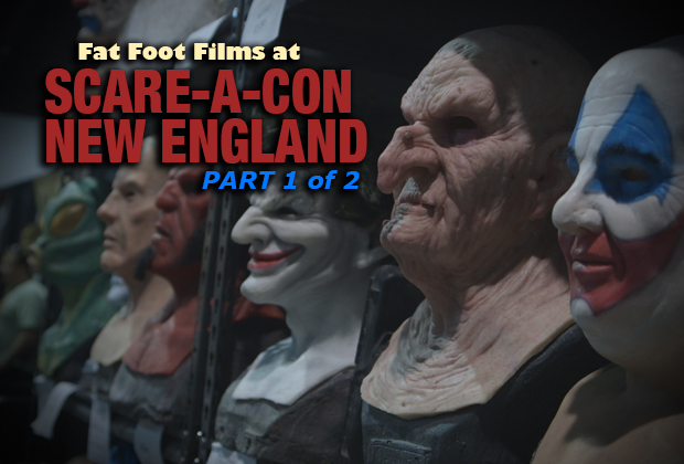 Fat Foot Films showcases their experience at the New England Scare-A-Con from June 3-5th 2016 at the Mass Mutual Center in Springfield, MA.  Part 1 of 2