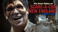 Fat Foot Films showcases their experience at the New England Scare-A-Con from June 3-5th 2016 at the Mass Mutual Center in Springfield, MA.  Part 2 of 2