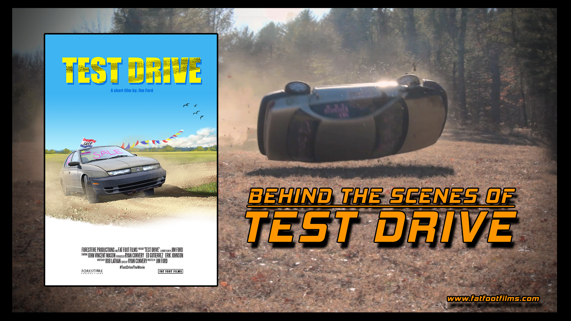 behind the scenes of test drive