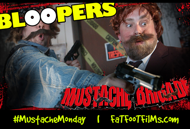 "Bloopers from episode 1 of Mustache Brigade, ""Shhh, It's a Stealth Mission!"" Stay tuned every #mustachemonday for more episodes and content!   SYNOPSIS: The Mustache Brigade is an elite team […]"