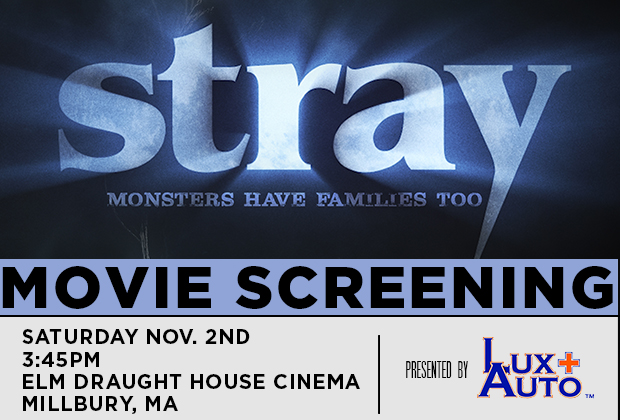STRAY will be doing a second showing on Saturday, November 2nd, 3:45pm at the Elm Draught House Cinema, 35 Elm Street Millbury, MA. To stay up to date on this […]