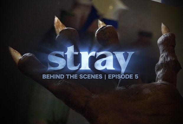 """An inside look at the special effects makeup used on Fat Foot Films newest short film """"Stray""""."""